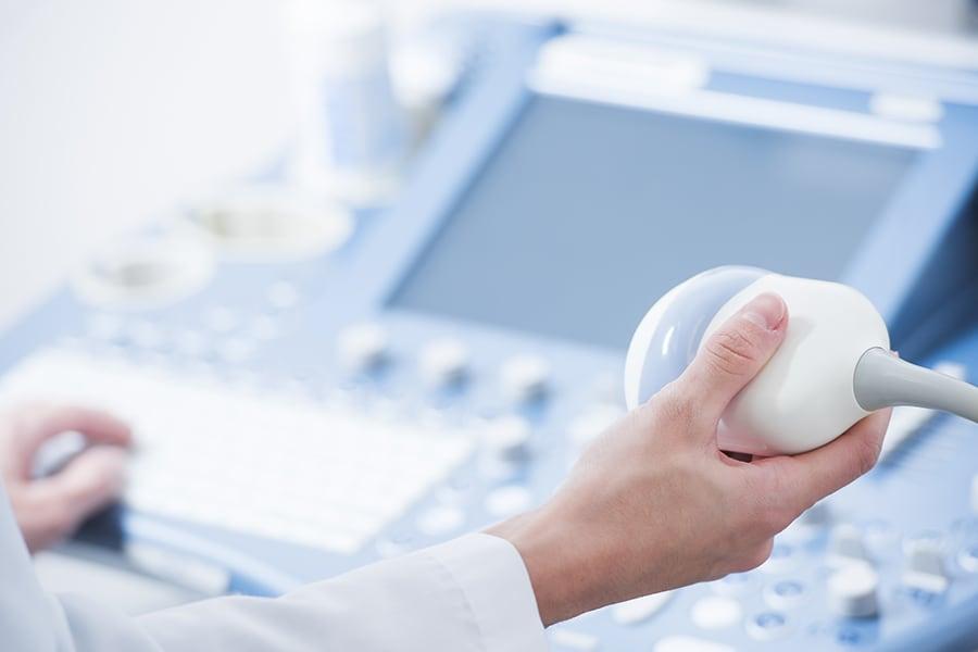 An ultrasound device